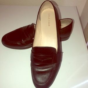 Black Leather Loafers by Cole Haan